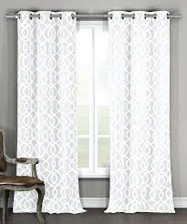 white textured curtains willow textured woven grommet curtain