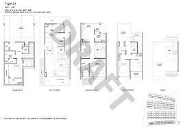 Site Floor Plan Belgravia Villas Site And Floor Plan Projects Homes Your Life