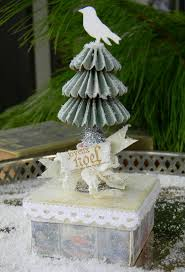 papercraft christmas tree christmas lights decoration