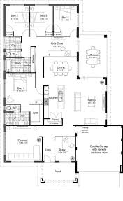 pool house garage open concept house plans with floor modern planskill fantastic