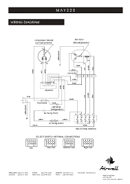 airwell may 220 wiring diagram service manual download schematics