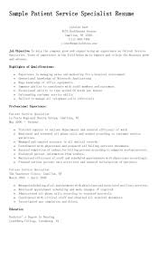 contract specialist resume example sales specialist resume accounts receivable specialist resume sample patient service specialist resume resame pinterest