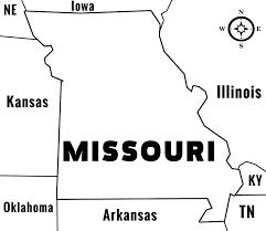 Missouri Illinois Map by Missouri Mo State Information
