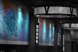 custom wall murals coverings photo of the custom designed tribal wall murals for little creek casino design