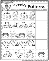 Kid Halloween Poems October Preschool Worksheets Worksheets October And Patterns