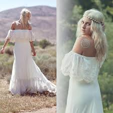 informal wedding dress discount 2015 new bohemian wedding dresses casual boho bridal