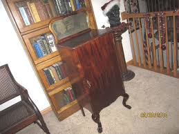 player piano roll cabinet antique mahogany sheet music holder player piano roll cabinet stand