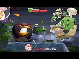 Challenge Angry Angry Birds 2 King Pig Panic Daily Challenge Gameplay Walkthrough