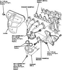 2000 honda civic exhaust manifold how to replace the exhaust manifold on all 1996 2000 honda civic