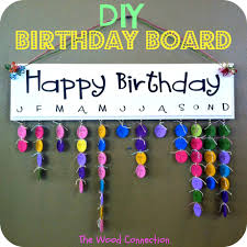 birthday board birthday board the wood connection