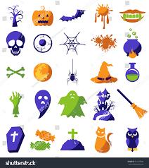 halloween icons free set halloween icons vector stock vector 321235244 shutterstock