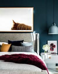 la chambre bleu 1001 idées pour une chambre bleu canard pétrole et paon