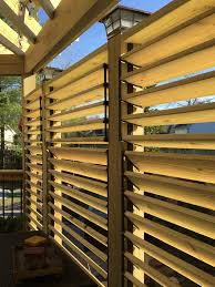 Pergola With Movable Louvers by Close Up Of The Hardware System Flexfence That Allows You To