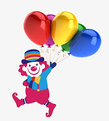 clown baloons clown balloons april fool s day fools element png and psd file