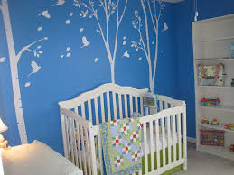Papier Peint Ado Fille by Custom Popdecals Trois Big Bouleau Arbres 102in Salon