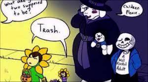 undertale comic dub halloween youtube