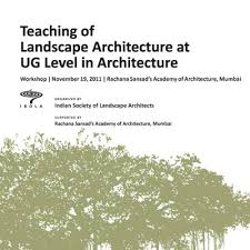 annual conferences indian society of landscape architects