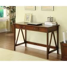 Oak Computer Desk With Hutch by Desks Home Office Furniture The Home Depot