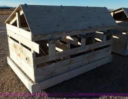 Calf Hutches For Sale 26 Wood Calf Hutches Item J8317 Sold February 19 Blis