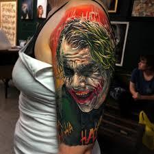 joker tattoo video tattoo by ben kaye
