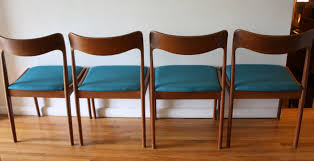 Teal Dining Table by Mid Century Modern Danish Teak Dining Chairs And Folding Table