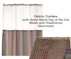 Cubicle Curtains With Mesh Unicor Shopping Mattresses Linens And Draperies Category