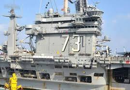usa cvn73 celebrates thanksgiving at sea naval today