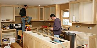 installing cabinets in kitchen traditional how to install kitchen cabinets crucial for building at