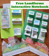 Landforms Worksheets Landforms Interactive Notebook Pack U2013 Only Passionate Curiosity
