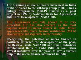 microfinance in india dr shikha tripathi ppt