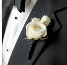 white boutonniere the white boutonniere there is nothing more classic photo