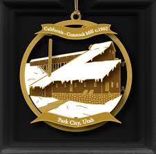 park city museum ornaments park city museum