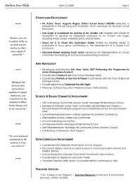 teachers resumes samples resume samples for art students frizzigame art handler resume resume for your job application