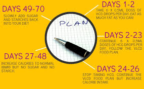 hcg diet plan how it works u2013 weight loss magic formula