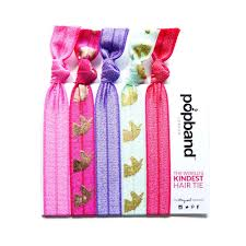 pop bands hair unicorn popbands pink gold unicorn print hair bands popband
