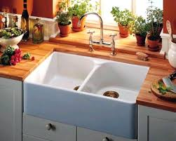 Country Kitchen Sinks Kitchen Sink With Backsplash Protector Stainless Steel Farmhouse