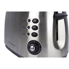 White Kettles And Toasters Hamilton Beach Brushed Stainless 2 Slice Toaster 22504 Walmart Com