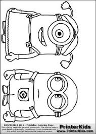 minion coloring pages party favors woodworking