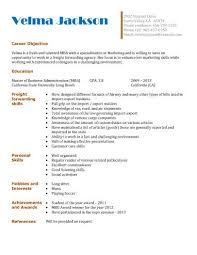 Examples Of Resume For College Students by 13 Student Resume Examples High And College