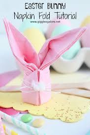 easter napkins easter bunny napkins