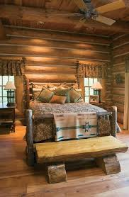 bedroom decor cabin furniture log beds mountain lodge style