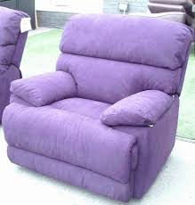 purple fabric designer development elec rec 2 seater lounger