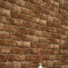 pvc vinyl tan vintage wall paper brick embossed textured wall