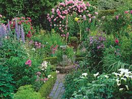 cottage garden plans cottage style garden ideas home decorating