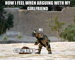 How I Feel Meme - how i feel when arguing with my girlfriend girlfriend meme photo