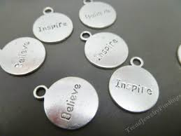 inspirational charms bulk 25 silver inspirational charms inspire charms