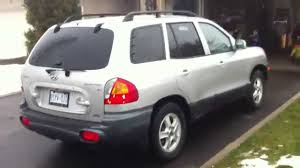 2003 hyundai santa fe recalls 2002 hyundai santa fe v6 4wd startup engine in depth tour