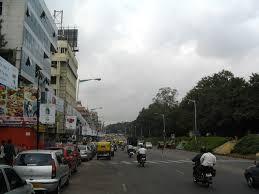 M G Road, Bangalore