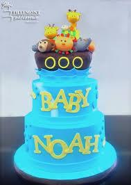 noah ark baby shower noah s ark topper baby shower cakes patisserie tillemont