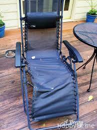 Zero Gravity Patio Chair by Zero Gravity Chair Repair A Pretty Happy Home